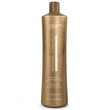 Cadiveu Brasil Cacau Anti Residue Shampoo шампунь глубокой очистки 980 мл