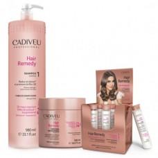 Cadiveu Hair Remedy набор профессиональный 980/500/6*15 мл