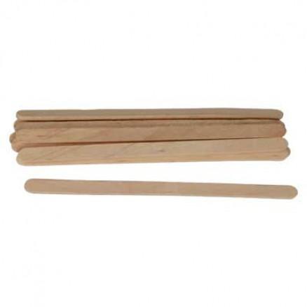 Шпатель деревянный, узкий, 140х7х2, 10 шт/уп