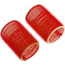 Бигуди-липучки DEWAL, красные, d13 мм, 12 шт/уп