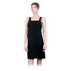 Фартук мастера DEWAL для стрижки, мужской, полиэстер, черный, 74х78,5 см