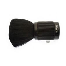 Кисть-сметка DEWAL, настольная, ручка-пластик прорезиненный, натуральная щетина, черная