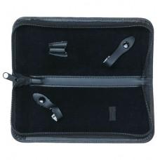 Футляр для 2-х ножниц, материал: кожзам.