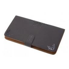 Чехол для ножниц и расчесок DEWAL, полимерный материал, серый, 13х23х2 см