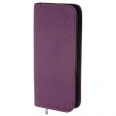 Чехол для 2-х ножниц DEWAL, полимерный материал, фиолетовый с черным, 22х10х3 см