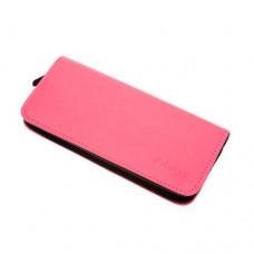 Чехол для 2-х ножниц DEWAL, полимерный материал, ярко розовый с черным, 22х10х3 см