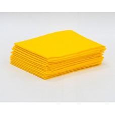 Простыня одноразовая White line SMS 20, 70*200, желтый, 10 шт/уп