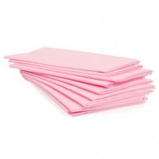 Простыня одноразовая White line SMS 20, 70*200, розовый, 10 шт/уп