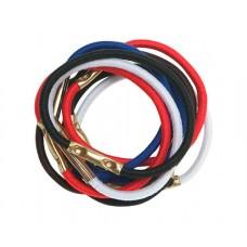 Резинки для волос DEWAL, цветные, mini 10 шт/уп