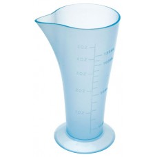Стакан мерный DEWAL, голубой, с носиком 120 мл