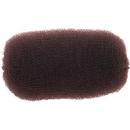 Валик для прически DEWAL, сетка, коричневый, 12 см