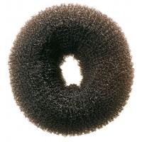 Валик для прически DEWAL, сетка, черный, d8 см
