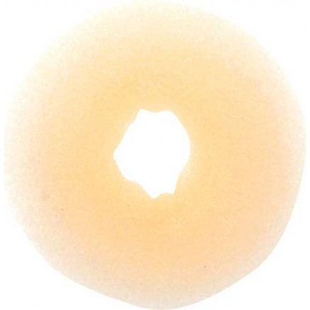 Валик для прически DEWAL, сетка, блондин, d8 см
