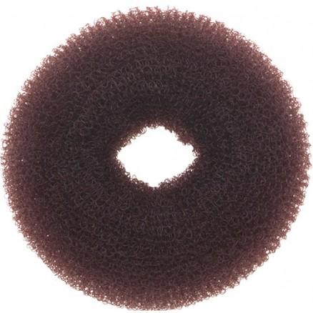 Валик для прически DEWAL, сетка, коричневый, d8 см