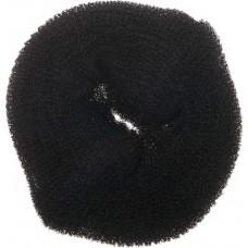 Валик для прически DEWAL, губка, черный, d14 см