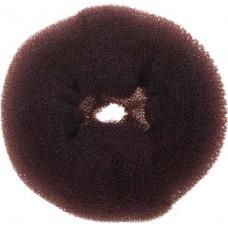Валик для прически DEWAL, губка, коричневый, d14 см