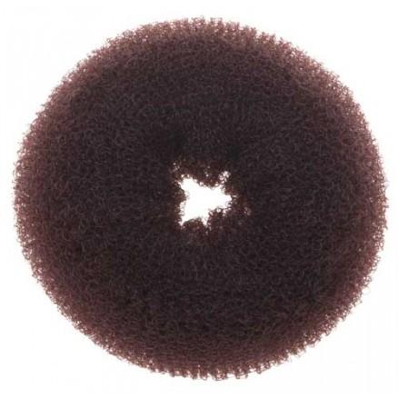 Валик для прически DEWAL, губка, коричневый, d8см