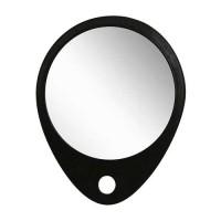 Зеркало заднего вида DEWAL, серия Barber Style, в черной оправе, 30,5х25 см