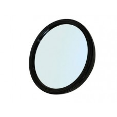 Зеркало заднего вида SIBEL, пластик, черное, с ручкой 23 см