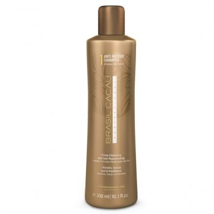 Cadiveu Brasil Cacau Anti Residue Shampoo шампунь глубокой очистки 300 мл