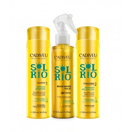 Cadiveu Sol Do Rio набор для восстановления волос 250/250/215 мл