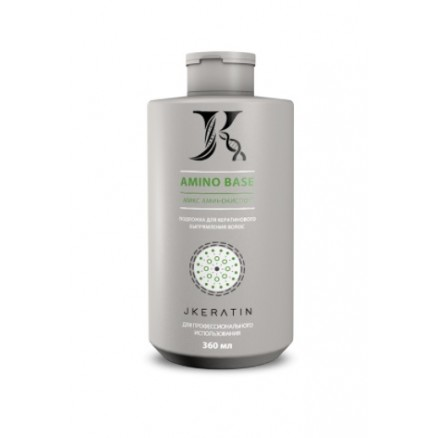 JKeratin Amino Base подложка для кератинового выпрямления волос, 360 мл