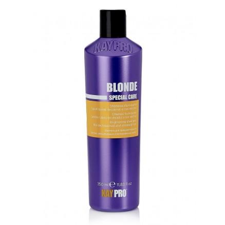 Шампунь с сапфиром KayPro, для придания яркости светлым волосам, серия Blonde, 350 мл