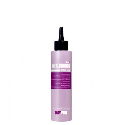 Гель-филлер с гиалуроновой кислотой KayPro, для плотности волос, серия Hyaluronic, 200 мл