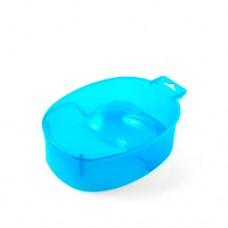 Ванночка для маникюра TNL, прозрачно-синий