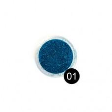 Блестки TNL, №01 темно-синий, 2,5 гр