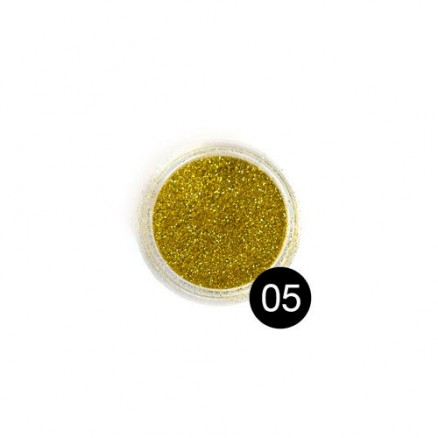 Блестки TNL, №05 золото, 2,5 гр