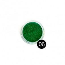 Блестки TNL, №06 зеленый, 2,5 гр