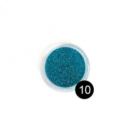 Блестки TNL, №10 цвет морской волны, 2,5 гр