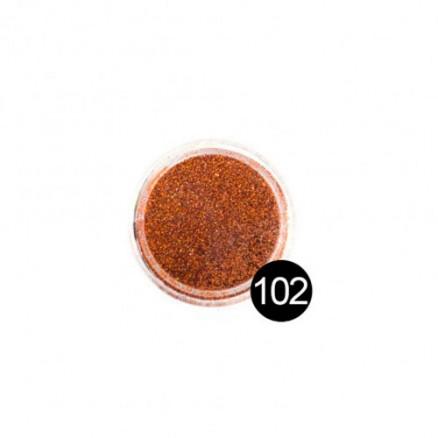 Блестки TNL, №102 Коричневато-оранжевый, 2,5 гр