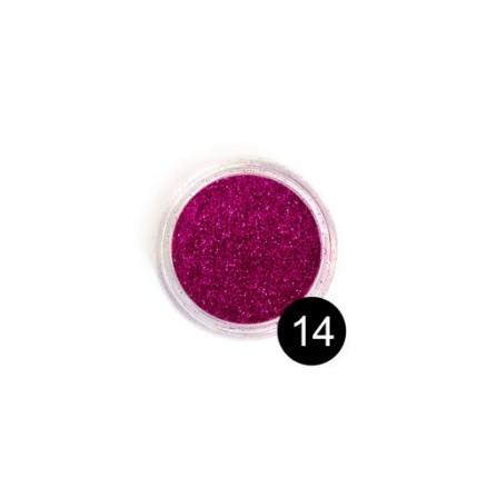 Блестки TNL, №14 ярко-розовый, 2,5 гр