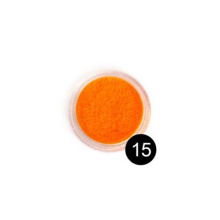 Блестки TNL, №15 ярко-оранжевый, 2,5 гр
