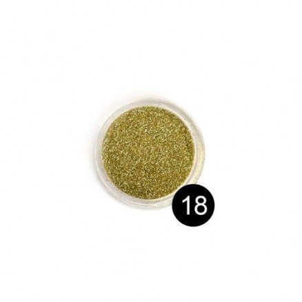 Блестки TNL, №18 золото, 2,5 гр