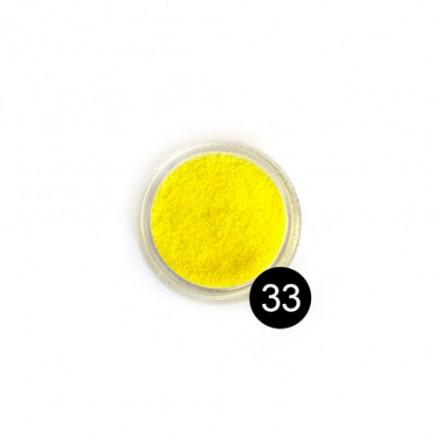 Блестки TNL, №33 лимонный, 2,5 гр