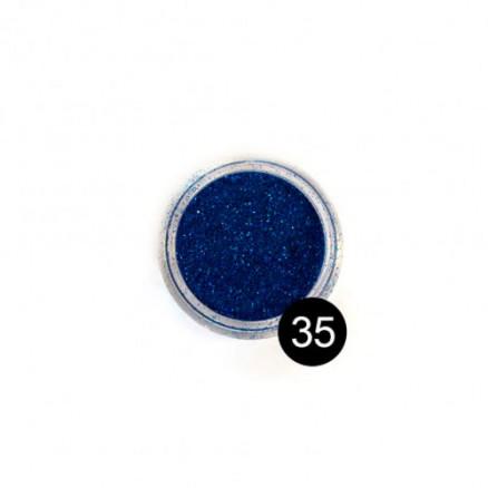 Блестки TNL, №35 синий, 2,5 гр