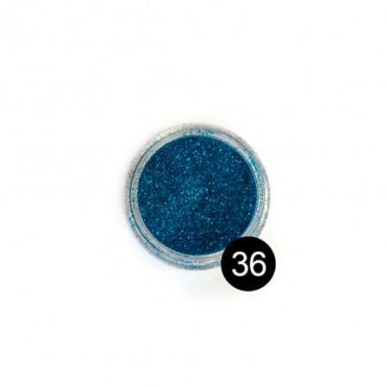 Блестки TNL, №36 цвет морской волны, 2,5 гр