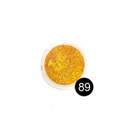 Блестки TNL, №89 желтое золото, 2,5 гр