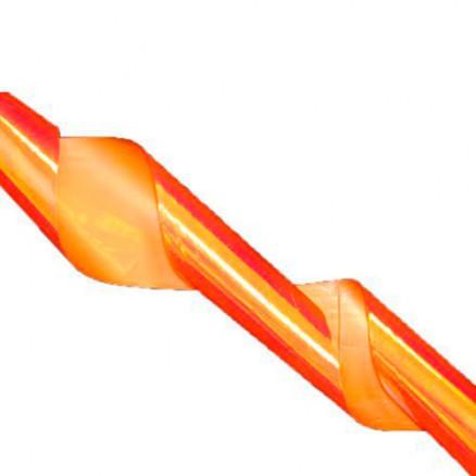 Битое стекло TNL, для дизайна ногтей, №01, оранжевое