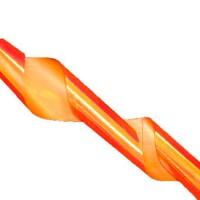 Битое стекло TNL, для дизайна ногтей, №16, морковный