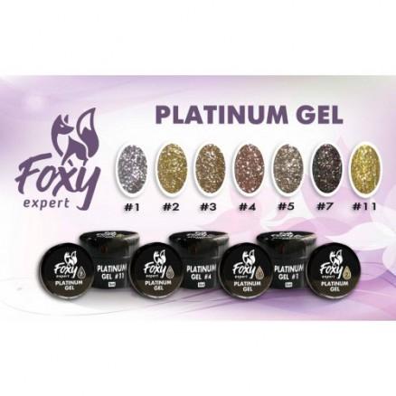 Платинум гель Foxy Expert Platinum gel, №4, 5 мл