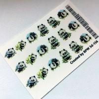 3D Слайдер-дизайн, панды, 3D156