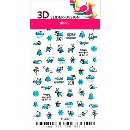 3D-слайдер Milv, B432