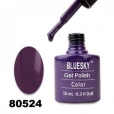 Гель-лак BlueSky, темно-фиолетовый, 80524, 10 мл