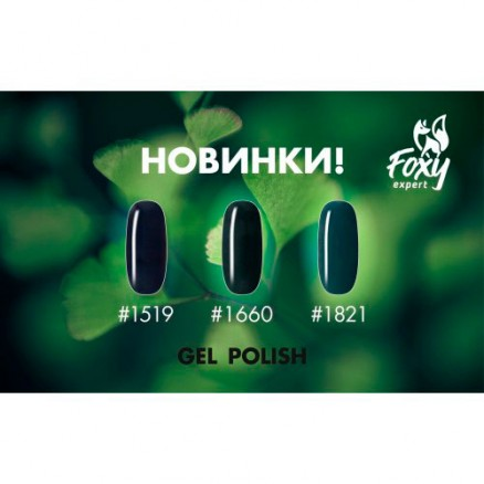 Гель-лак Foxy Expert Gel polish, №1660, 10 мл