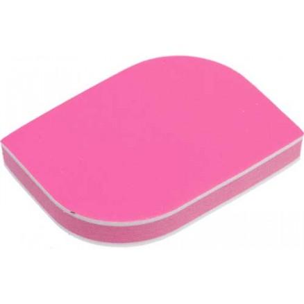 Брусок полировочный мягкий Dewal Beauty, розовый, 2 в 1, 400/1200 гр