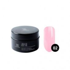 Гель-желе TNL, №02 камуфлирующий розовый, 18 мл